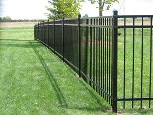 Ornamental Aluminum And Steel Fencing Installation Columbus