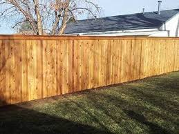 Cedar Wood Fencing Installation Columbus